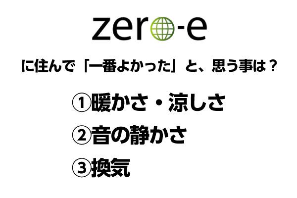 zero-eに住んで「一番よかった」と思うことは?