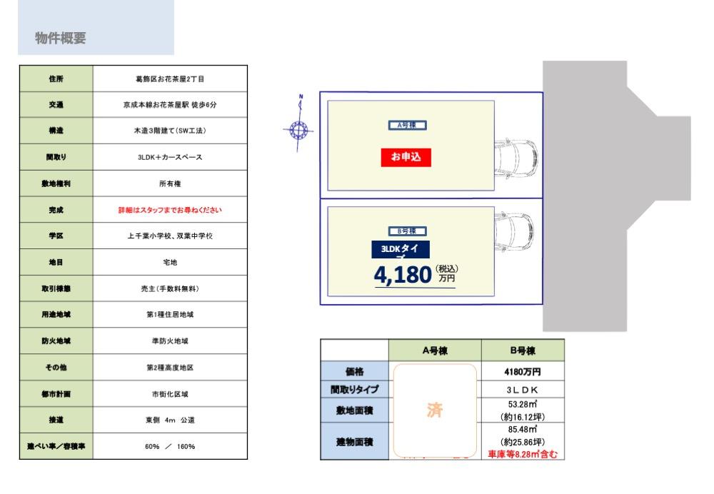 販売区画図